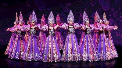 Праздничный концерт театра танца Гжель
