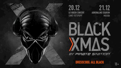 Black X-Mas by Pirate Station