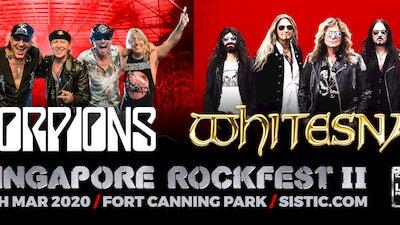 Singapore Rockfest II: Scorpions and Whitesnake